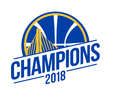 2018 Golden State Warriors Championship logo